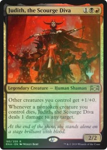 Magic: the Gathering Singles - Judith, the Scourge Diva (Promo Pack - Foil)