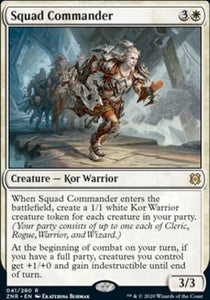 Magic: the Gathering Singles - Squad Commander