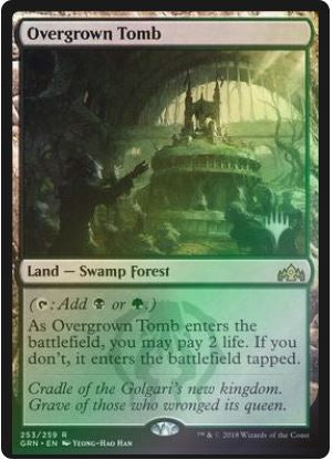 Magic: the Gathering Singles - Overgrown Tomb (Promo Pack - Foil)