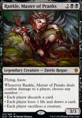 Magic: the Gathering Singles - Rankle, Master of Pranks