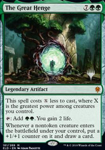 Magic: the Gathering Singles - The Great Henge (Promo Pack)