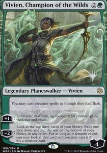 Magic: the Gathering Singles - Vivien, Champion of the Wilds (Promo Pack)