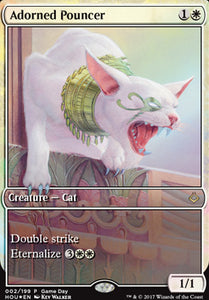 Magic: the Gathering Singles - Adorned Pouncer (Game Day Extended Art - Foil)