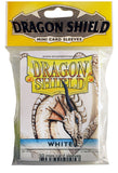 MINI SIZE, CLASSIC SLEEVE, WHITE, 50CT, DRAGON SHIELD