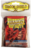 STANDARD SIZE, CLASSIC SLEEVE, RED, 50CT, DRAGON SHIELD