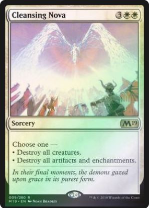 Magic: the Gathering Singles - Cleansing Nova (Promo Pack - Foil)