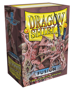 STANDARD SIZE, CLASSIC SLEEVE, FUSION, 100CT, DRAGON SHIELD
