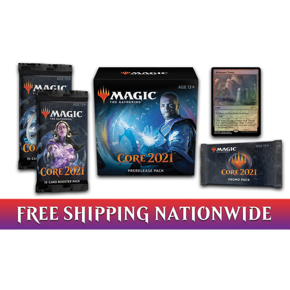 Magic: the Gathering, Core Set 2021 PreRelease Pack