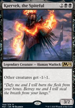 Kaervek, the Spiteful - M21
