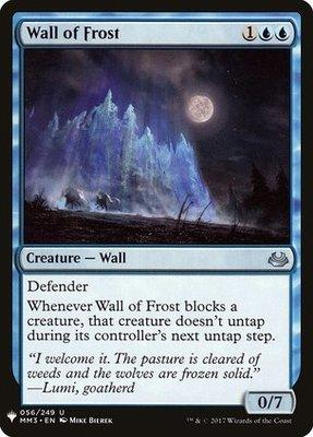 Wall of Frost - MB1