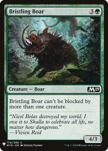 Magic: the Gathering Singles - Bristling Boar