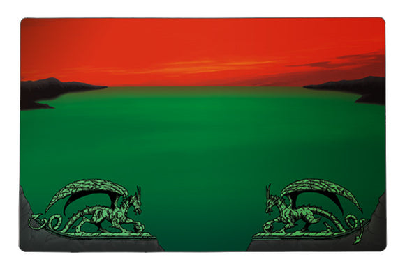 Dragon Shield Playmat - Classic - Red Zone