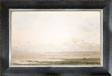 Petite Scapes - Beach at Ebb Tide C. 1850