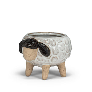 Small Sheep on Legs Planter