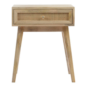 Reed Side Table Natural