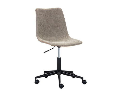 Cal Office Chair - Antique Grey