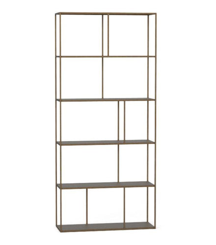 Eiffel Bookcase - Large Antique - Brass