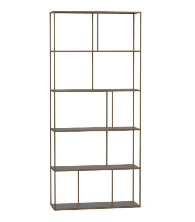 Eiffel Bookcase Large Antique Brass
