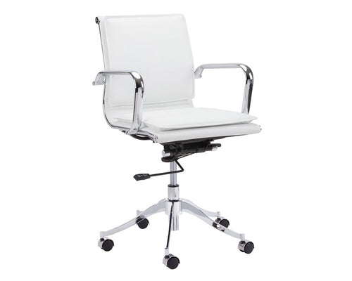 Morgan Office Chair - Snow White