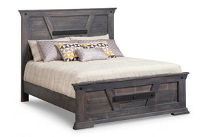 Algoma King Bed with Low Footboard