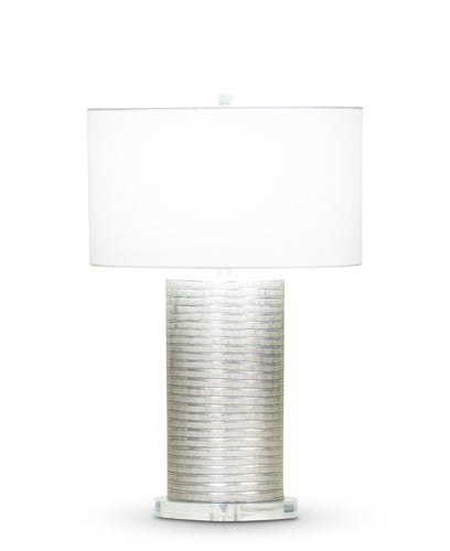 Aurora Table Lamp - Off-White Cotton Shade