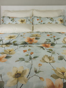 Magnolia Duvet and Shams - King