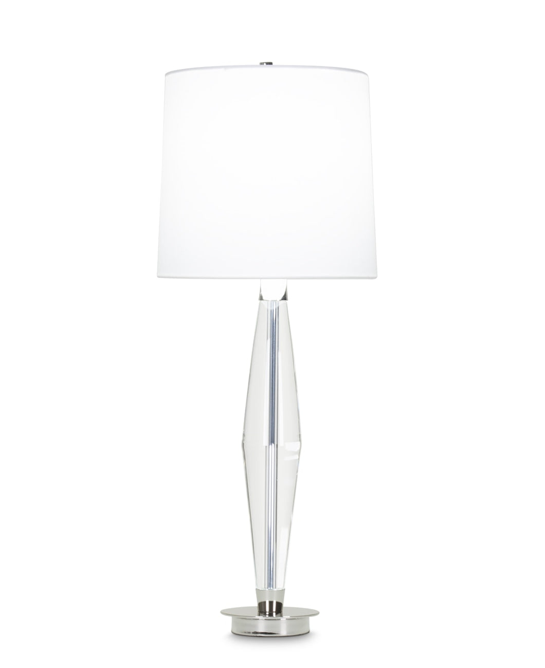 Julius Table Lamp - Off-White Cotton Shade