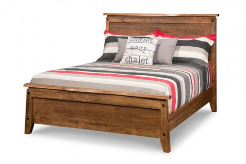 Pemberton Queen Bed with Low Footboard