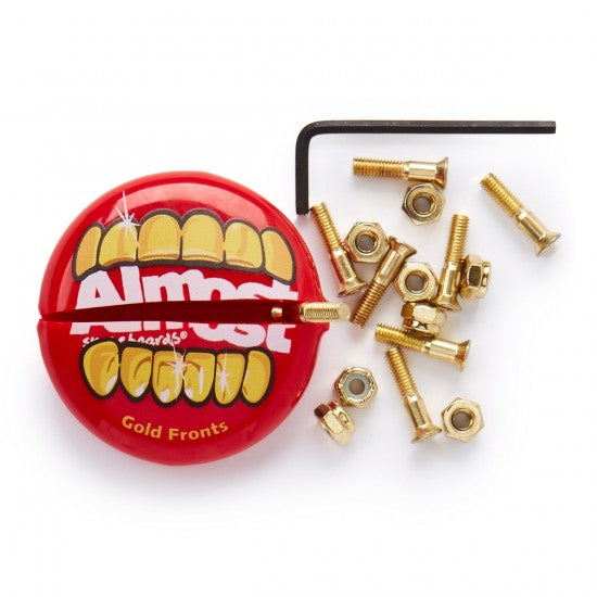 ALMOST HARDWARE ALLEN BOLTS AND NUTS GOLD 1