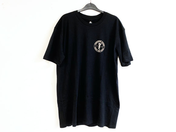 TEMPERED GOODS ABYSS LOGO TEE (BLACK)