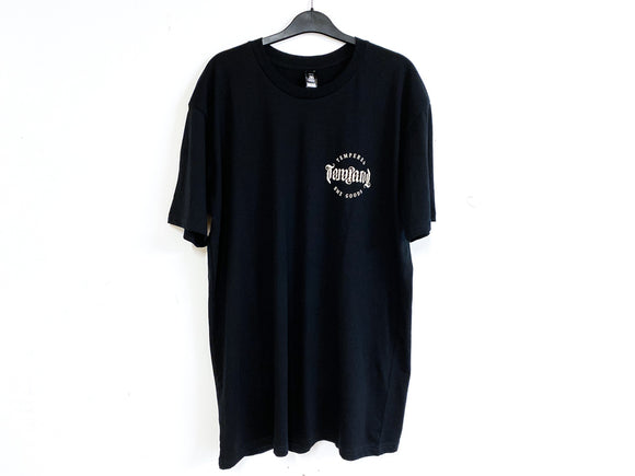 TEMPERED BMX GOODS TEE (BLACK)
