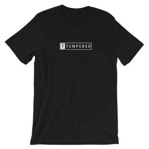 Tempered Box Logo T-Shirt - Black.