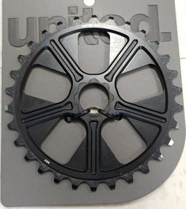 United Super 8 Spline Sprocket 30T - Matte Black