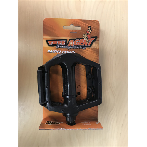 FREE AGENT ALLOY RACING PLATFORM PEDALS 1/2