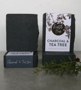 Charcoal and Tea Tree Face Antibacterial Cleanse Soap