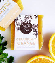 Load image into Gallery viewer, Geranium and Orange Soap