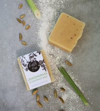 Load image into Gallery viewer, Lemongrass and Coconut Milk Soap