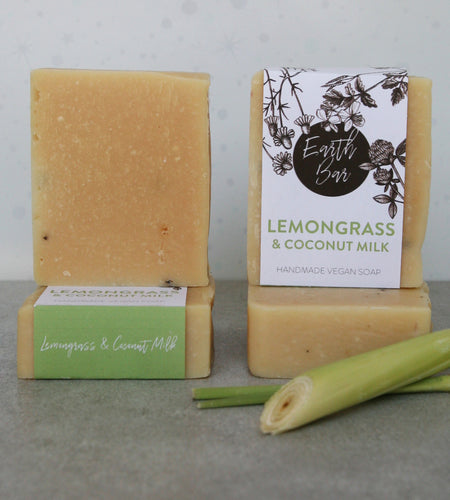Lemongrass and Coconut Milk Soap
