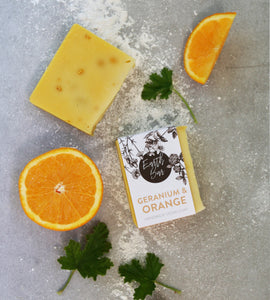 Geranium and Orange Soap