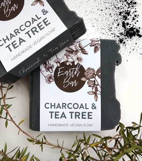 Charcoal and Tea Tree Face Cleanse Soap