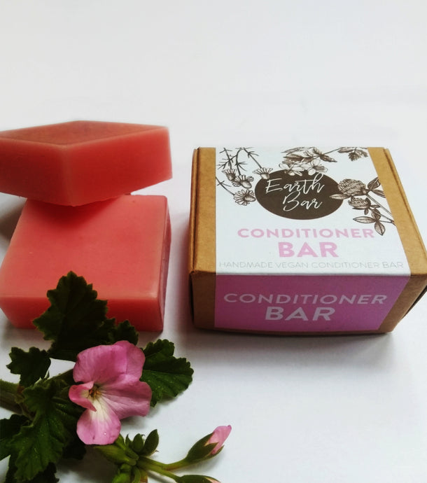 Rose Geranium & Pink Grapefruit Conditioner Bar