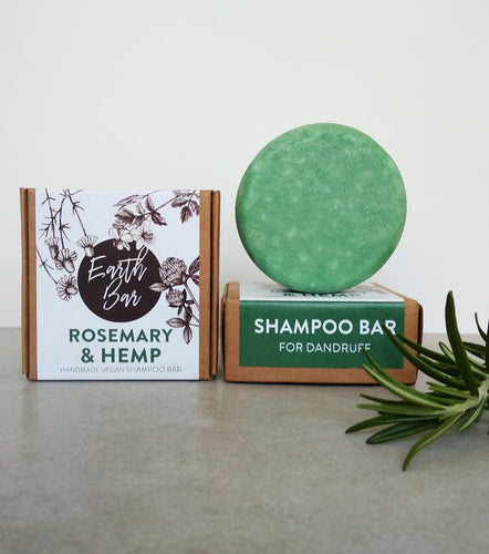 Rosemary & Hemp Shampoo Bar - For Dandruff