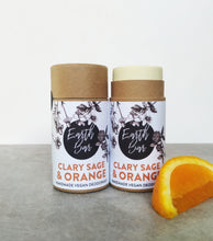 Load image into Gallery viewer, Clary Sage & Orange Prebiotic & Hemp Seed Oil Deodorant