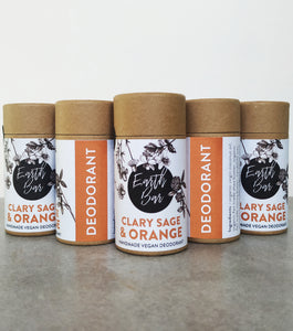 Clary Sage & Orange Prebiotic & Hemp Seed Oil Deodorant