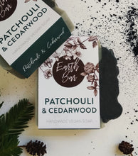 Load image into Gallery viewer, Patchouli and Cedarwood Soap