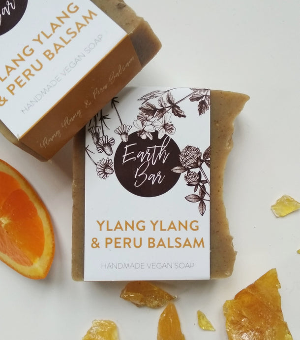 Ylang Ylang and Peru Balsam Soap