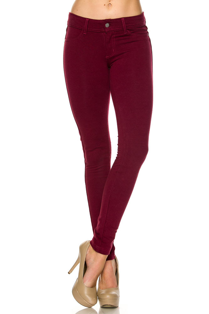 Curvy Knit Pants - besties STUDIOS