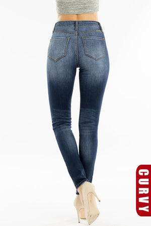 Hot to Trot Button-Fly Jeans - besties STUDIOS