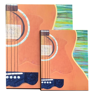 Acoustic Guitar Canvas - besties STUDIOS