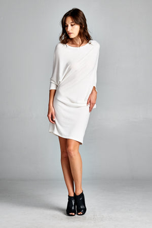 Long Sleeve Shift Dress - besties STUDIOS